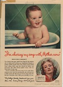 view I'm sharing my soap with Mother now. [Print advertising.] Family Circle digital asset: I'm sharing my soap with Mother now. [Print advertising.] Family Circle. 1941.