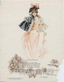 view Miss Blossom. [Print advertising.] digital asset: Miss Blossom. [Print advertising.] 1899.