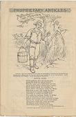 view The Mower. [Print advertising, general circulation publications] digital asset: The Mower. [Print advertising, general circulation publications], 1893.