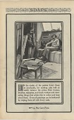 view [In the studio of the painter Ivory Soap is invaluable..]. [Print advertising.] digital asset: [In the studio of the painter Ivory Soap is invaluable..]. [Print advertising.] 1900