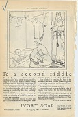 view To a second fiddle. [Print advertising.] digital asset: To a second fiddle. [Print advertising.] 1925
