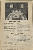view Windows that SELL. [Print advertising.] Grocery trade papers digital asset: Windows that SELL. [Print advertising.] Grocery trade papers. 1925.