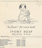 view It floats for your bath. [Print advertising : general circulation publications] digital asset: It floats for your bath. [Print advertising : general circulation publications], 1926.
