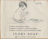 view Ivory Soap. [Print advertising.] digital asset: Ivory Soap. [Print advertising.] 1926
