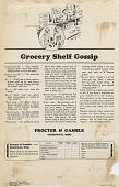 view Grocery Shelf Gossip. [Print advertising.] Grocery trade papers digital asset: Grocery Shelf Gossip. [Print advertising.] Grocery trade papers. 1927