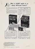 view Why is IVORY made in so many different forms? [Print advertising.] [Grocery trade papers.] digital asset: Why is IVORY made in so many different forms? [Print advertising.] [Grocery trade papers.] 1941.