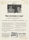 view What is the Function of a Soap? [Print advertising.] Canadian Medical Association Jou digital asset: What is the Function of a Soap? [Print advertising.] Canadian Medical Association Jou 1939