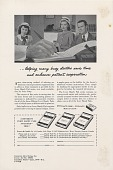view Helping many busy doctors save time and enhance patient... [Print advertising, medical industry publications,] digital asset: Helping many busy doctors save time and enhance patient... [Print advertising, medical industry publications,] 1948.