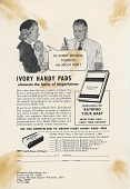 view Ivory Handy Pads. [Print advertising.] Current Medical Digest digital asset: Ivory Handy Pads. [Print advertising.] Current Medical Digest. 1953