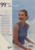 view 99 44/100% pure beautiful. [Print advertising.] digital asset: 99 44/100% pure beautiful. [Print advertising.] 1998