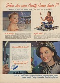 view When does your Beauty Career begin? [Print advertising.] digital asset: When does your Beauty Career begin? [Print advertising.] 1953