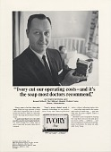 view Ivory cut our operating costs-and it's the soap most .. [Print advertising.] Hospital management publications digital asset: Ivory cut our operating costs-and it's the soap most .. [Print advertising.] Hospital management publications 1966