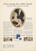view Concerning fair, white hands / and how to keep them fair and white. [Print advertising. General circulation publications,] digital asset: Concerning fair, white hands / and how to keep them fair and white. [Print advertising. General circulation publications,] 1928.