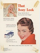 view That Ivory Look. [Print advertising.] Women's publications digital asset: That Ivory Look. [Print advertising.] Women's publications. 1954