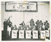 view [Fletcher Henderson's Band digital asset: [Fletcher Henderson's Band.