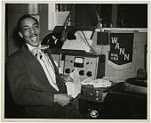 view WANN Radio Station Records digital asset: Adams, Hoppy, in studio