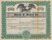 view Duncan Family Yo-yo Collection digital asset: Donald F. Duncan Inc. Corporate Minute Book