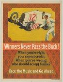 view Winners Never Pass The Buck digital asset: Winners Never Pass The Buck