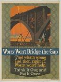 view Worry Won't Bridge The Gap digital asset: Worry Won't Bridge The Gap