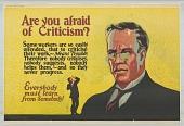 view Are You Afraid of Criticism? digital asset: Are You Afraid of Criticism?