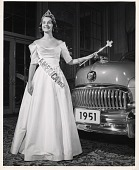 view Miss America 1951 Papers digital asset: Nash Automobile,1950-1951