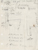 view Arthur Ehrat Papers digital asset: Early Sketches, breakaway rim