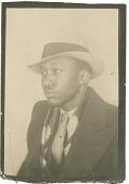 view [Portrait of Claude Williams: black and white photoprint] digital asset: [Portrait of Claude Williams: black and white photoprint, 1935.]