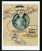 view General Motors EV1 Records digital asset: Mind Maps used to direct EV1 Project team goals