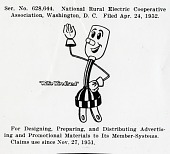 view Trademark registrations (Willie Wiredhand), 1953 June-1953 August; 1954 December; 1957 June; 1959 May digital asset: Trademark registrations (Willie Wiredhand), 1953 June-1953 August; 1954 December; 1957 June; 1959 May