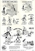 view Mat service sheets (411-440), 1952-1953 digital asset: Mat service sheets (411-440), 1952-1953