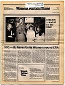 view Spokeswoman Magazine Printed Materials digital asset: Women's Political Times Volume III, Number 3, National Women's Political Caucus