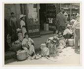 view Market Day: A Family Affair, Tamazunchale, Mexico [black-and-white photoprint] digital asset: Market Day: A Family Affair, Tamazunchale, Mexico [black-and-white photoprint], 1941.