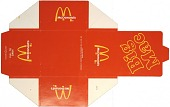 view Big Mac carton (invitation) for a grand opening in Northbrook, Illinois digital asset: Big Mac carton (invitation) for a grand opening in Northbrook, Illinois