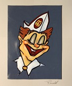 view Ronald McDonald (artwork) digital asset: Ronald McDonald (artwork)