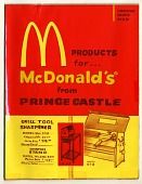 view Line drawings for McDonald's products digital asset: Line drawings for McDonald's products