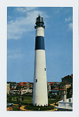 view Lighthouse Postcards Collection digital asset: Absecon, New Jersey