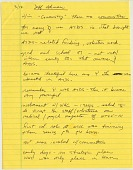 view [Interview with Jeff Akman by John Manuel-Andriote, 1 p.]. [hand-written notes on yellow lined] digital asset number 1