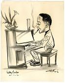 view Caricature of Bobby Tucker digital asset: Caricature of Bobby Tucker
