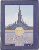 view Gay Games [program,] digital asset: Gay Games [program,] August, 1986.