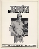 view The Brig bar, Baltimore, Maryland. [black and white poster] digital asset: The Brig bar, Baltimore, Maryland. [black and white poster].