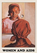 view [AIDS Awareness Card, Women and AIDS]. [color] digital asset: [AIDS Awareness Card, Women and AIDS]. [color].