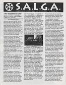 view South Asian Lesbian and Gay Association (SALGA), October 1994. [Newsletter.] digital asset: South Asian Lesbian and Gay Association (SALGA), October 1994. [Newsletter.]
