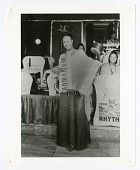 view [Member of the International Sweethearts of Rhythm playing accordion]. [black-and-white photoprint] digital asset: [Member of the International Sweethearts of Rhythm playing accordion]. [black-and-white photoprint].