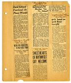 view [Articles from various newspapers: clippings] digital asset: [Articles from various newspapers: clippings].