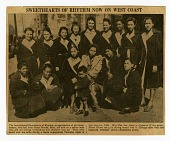 view Sweethearts of Rhythm Now on West Coast. [Newspaper clipping] digital asset: Sweethearts of Rhythm Now on West Coast. [Newspaper clipping].