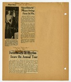 view [Newspaper clippings (3) from Chicago Defender.] digital asset: [Newspaper clippings (3) from Chicago Defender.]