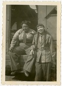 "view [""Sweethearts"" Tiny Davis and Rabbit (Willie Mae Wong). Black-and-white photoprint.] digital asset: [""Sweethearts"" Tiny Davis and Rabbit (Willie Mae Wong). Black-and-white photoprint.]"