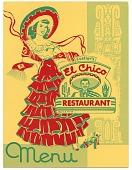 view El Chico menus and place mats digital asset: El Chico menus and place mats