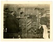 view [Man and woman filling orders at Sandford Greeting Card Company, photoprint] digital asset number 1