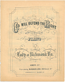 view God Will Defend the Right [sheet music] digital asset: God Will Defend the Right [sheet music]